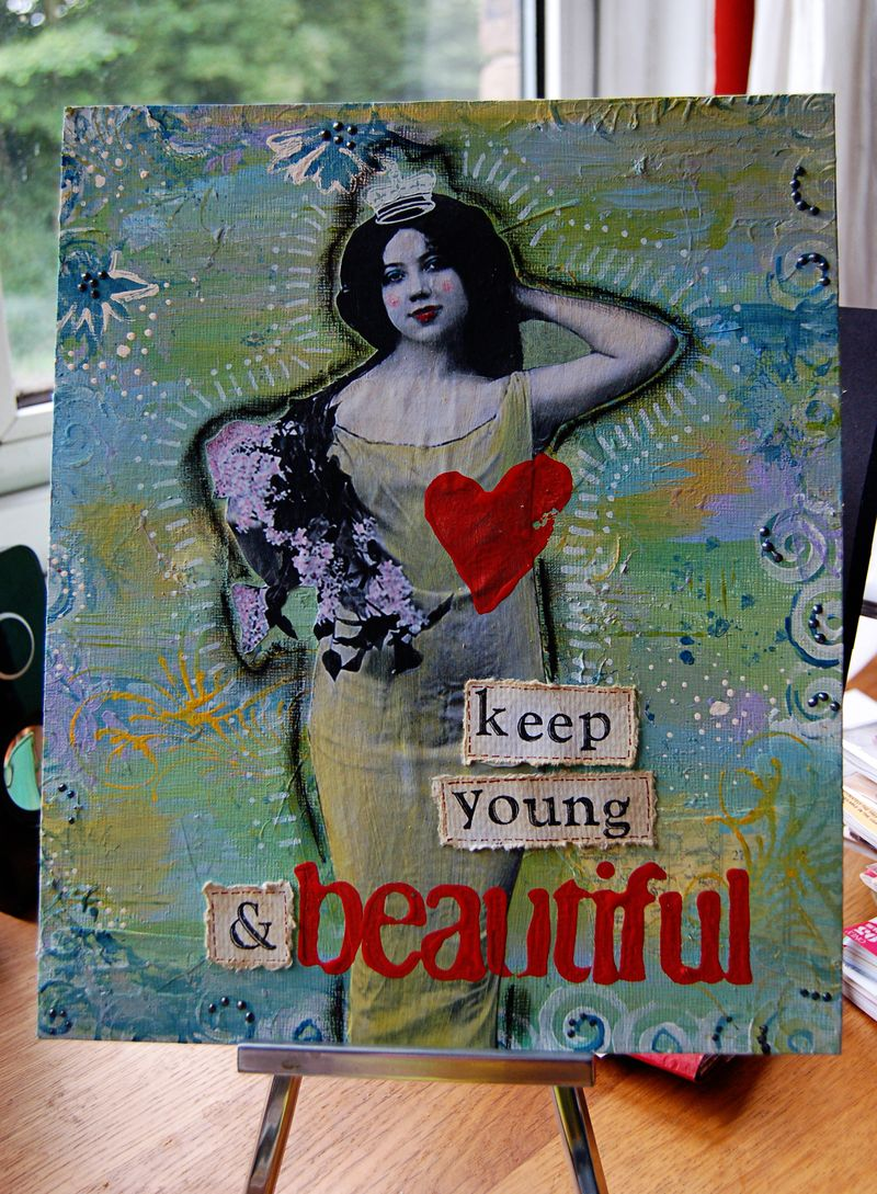 Keep young copy